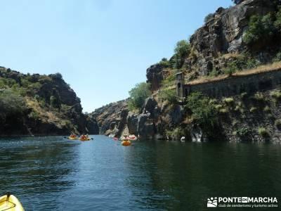 Piragua El Atazar;puente del pilar rutas senderismo madrid viajes verano